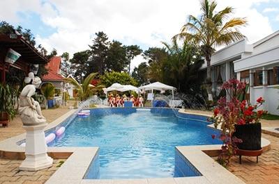 La piscine de l'espace Lambert Fialamboly