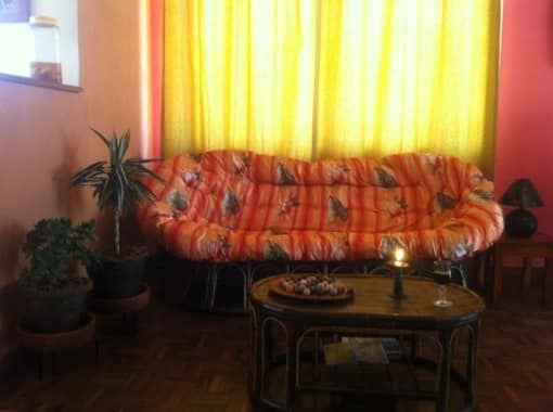 Salon de la chambre d'hôtes Le Ti'Jac
