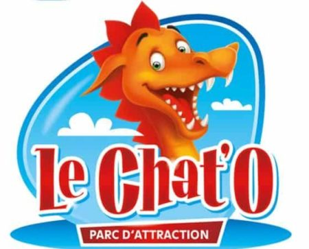 Logo du parc d'attraction Le Chat'O