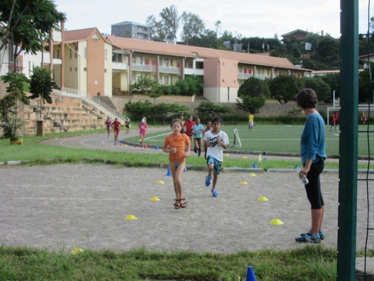 Infrastructures sportives du lycée français tananarive