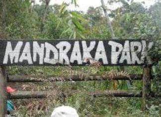 Enseigne du Mandraka Park