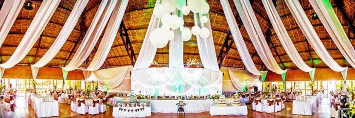 Salle de réception décorée par Mariage.mg