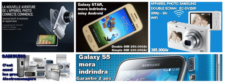 Produits Samsung par Moravidy