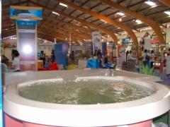 Stand d'Aquamarine au Salon International de l'Habitat 2016