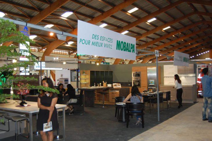 Stand Mobalpa au Salon International de l'Habitat 2016