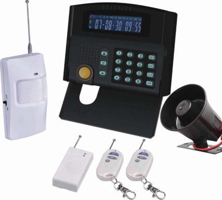 Alarmes avec et sans fil chez Securex