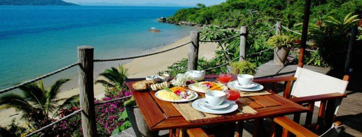 Restaurant avec vue Tsara Komba Lodge