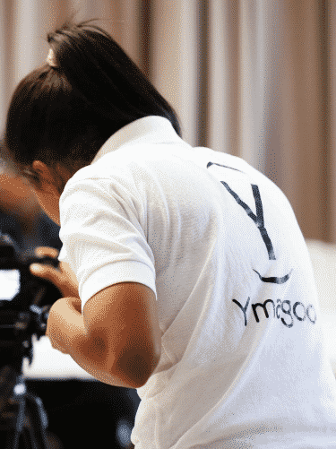 Photographe d'Ymagoo au travail