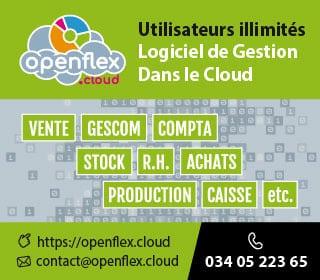 Openflex, Logiciel de Gestion