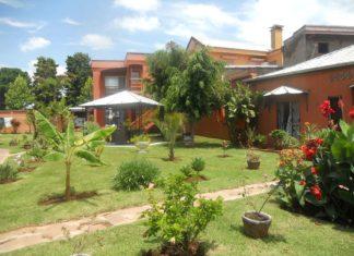 Le jardin arboré de Green Palace