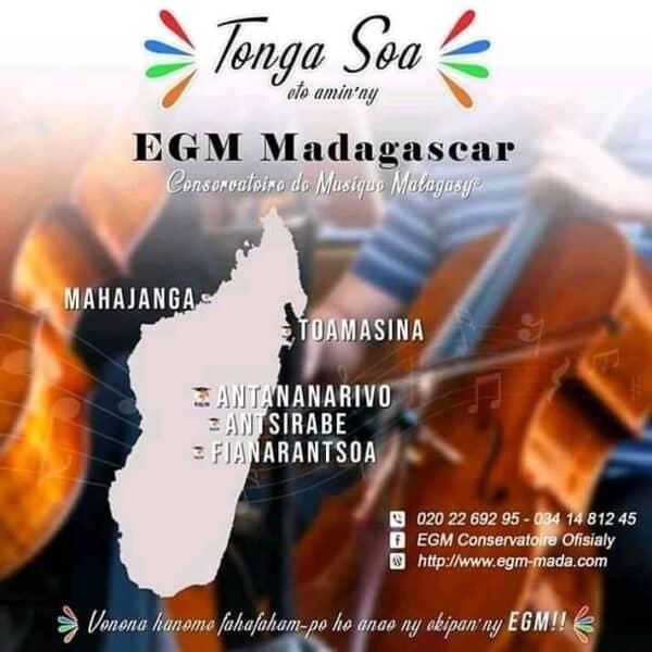 Présence de l'EGM dans tout Madagascar