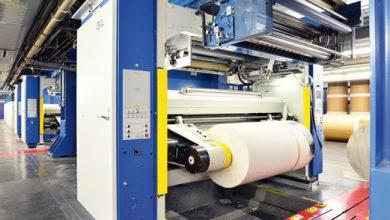Une rotative offset, la machine pour imprimer les journaux de l'imprimerie NIAG